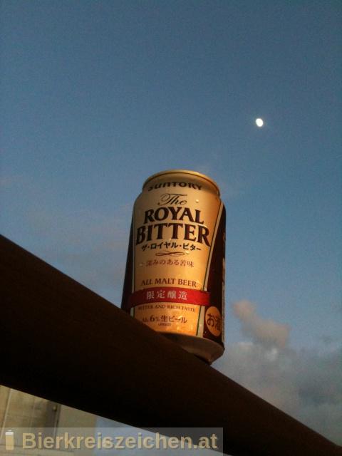 Foto eines Bieres der Marke Suntory The Royal Bitter aus der Brauerei Suntory Limited
