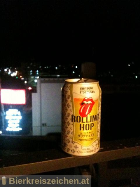 Foto eines Bieres der Marke Suntory Rolling Hop aus der Brauerei Suntory Limited