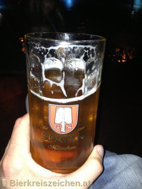 Foto eines Bieres der Marke Spaten Münchner Hell aus der Brauerei Spaten-Franziskaner-Bräu