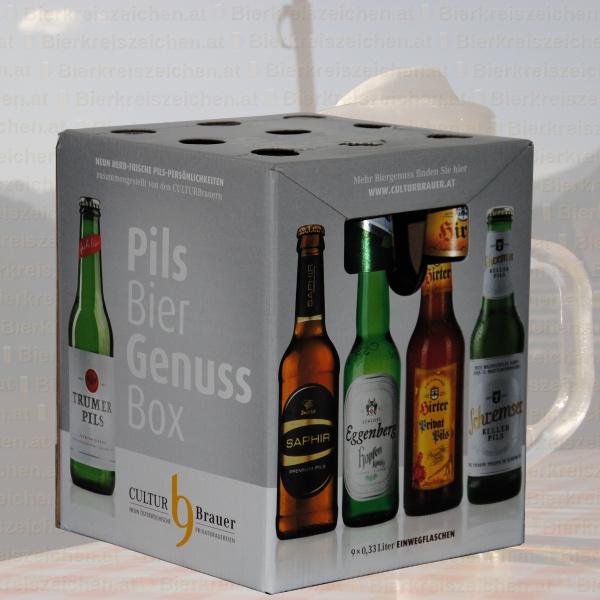 Produktinfo CULTURBrauer Pils Bier Genuss Box 2017
