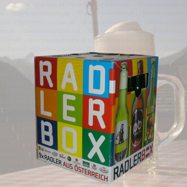 Produktinfo CULTURBrauer Radlerbox 2012