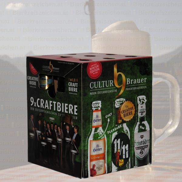 Produktinfo CULTURBrauer Craft Bier Box Winter Edition 2015
