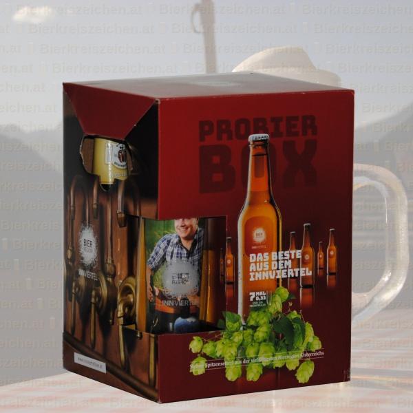 Produktinfo Probier Box: Bier Region Innviertel