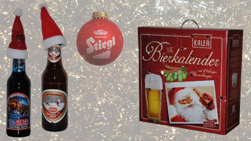 Weihnachtszeit: Bieradventkalender & Bockbier
