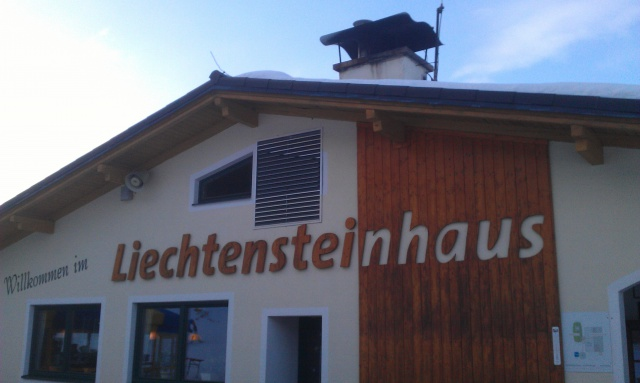 Bergrestaurant Liechtensteinhaus
