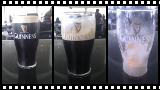 Ein Pint Guinness in der Guinness-Brauerei getrunken