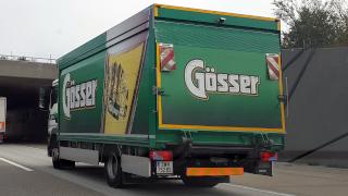 Fahrzeuge zur Gösser Brauerei