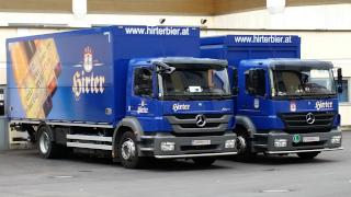 Fahrzeuge zur Hirter-Brauerei