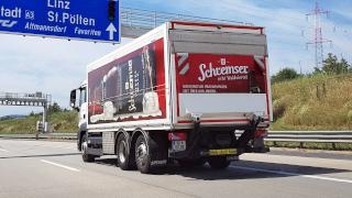 Fahrzeuge zur Schremser Brauerei