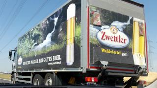Fahrzeuge zur Zwettler Brauerei