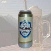 Produktfoto Pittinger Hefeweissbier (Bierdose)