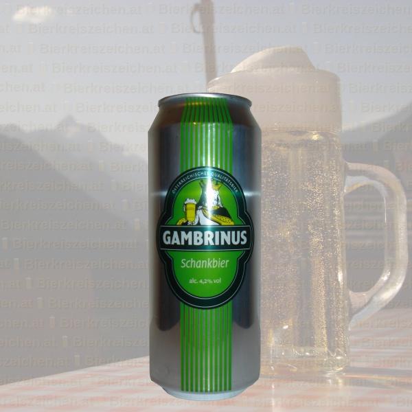 Gambrinus - Schankbier