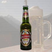 Produktfoto Kingfisher Premium (Lager Beer) (Bierflasche)