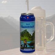 Produktfoto Quöllfrisch Hell (Bierdose)