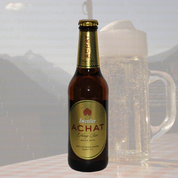 Zwettler Achat - Honig Bier 2013