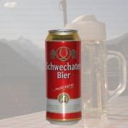 Produktfoto Schwechater Bier (Bierdose)