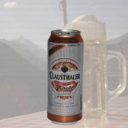 Produktfoto Clausthaler Zwickl (Bierdose)