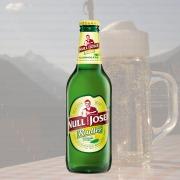 Produktfoto Null Komma Josef Radler Zitrone Minze (Bierflasche)