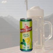Produktfoto Null Komma Josef Radler Zitrone Minze (Bierdose)