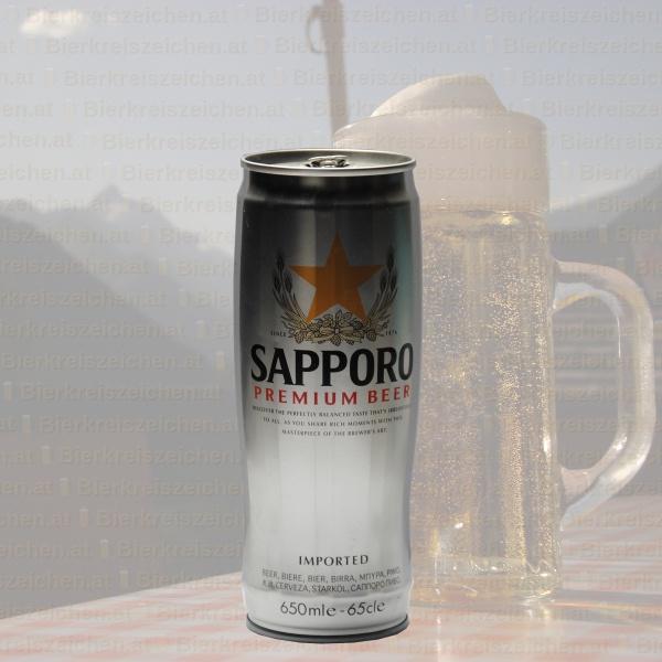 Sapporo Draft Beer (Premium)